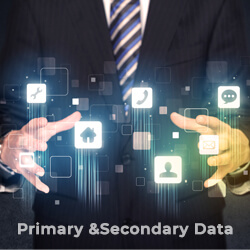 primary and secondary data