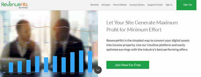 RevenueHits Ad Networking Platform