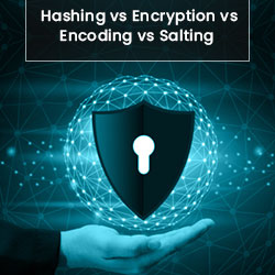 Hashing,Encoding,Encryption and Salting